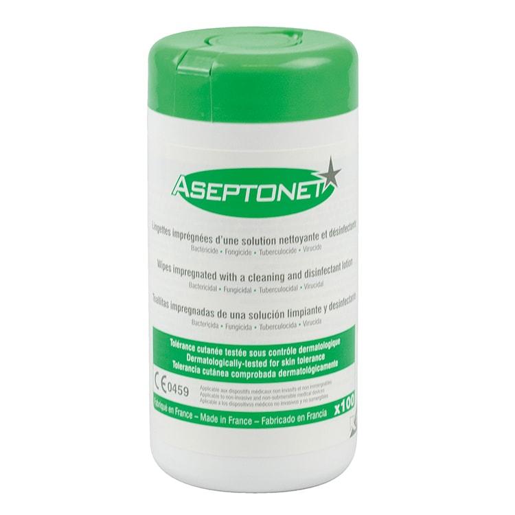 Aseptonet ontsmettingsdoekjes