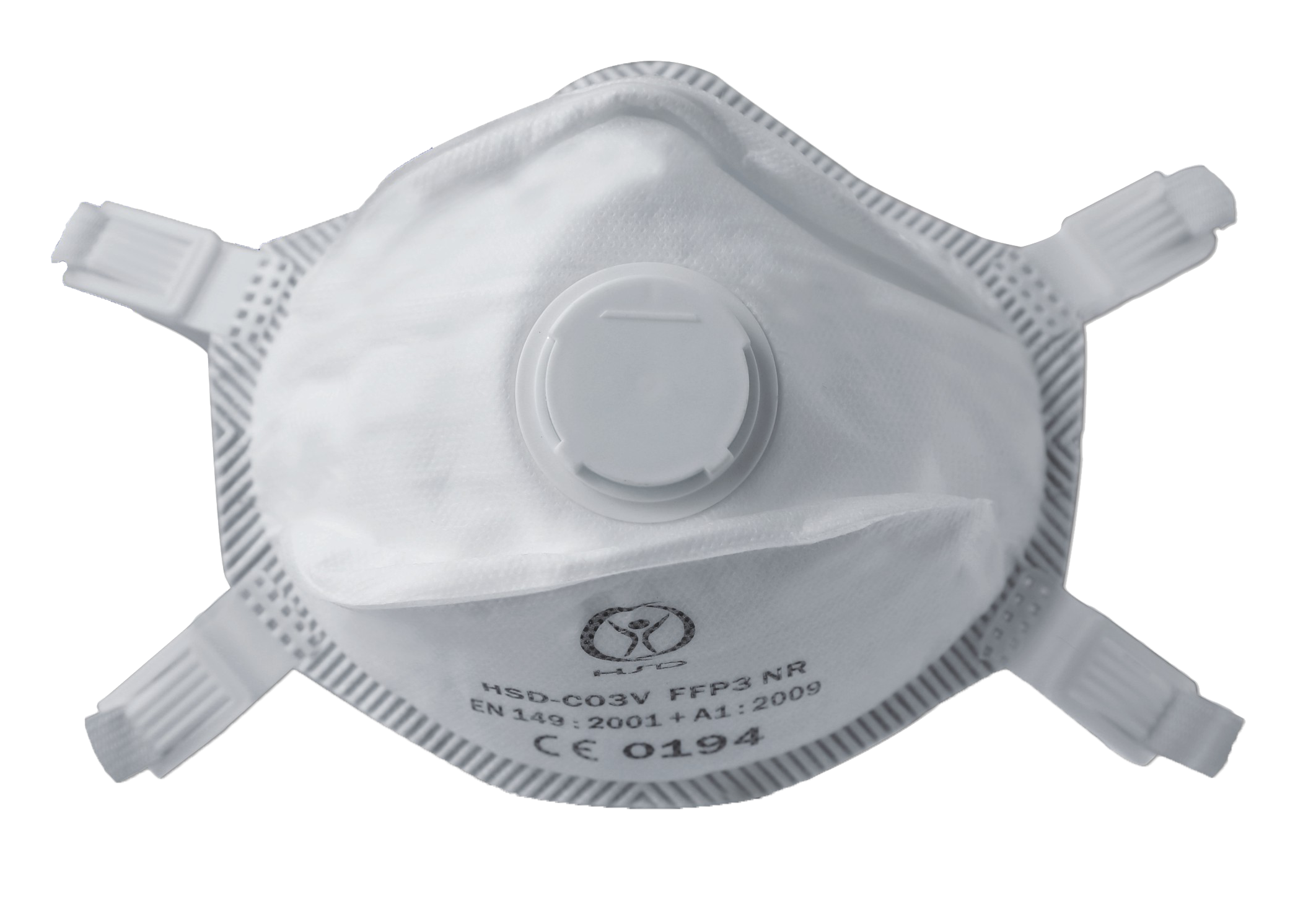 FFP3 masker met filter per 20 stuks